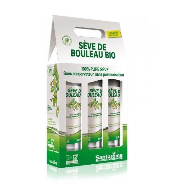 Seve de Bouleau Bio - 3 * 500ml Santarome