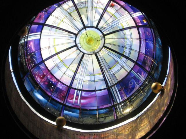 Narcissus Quagliata dome at Basilica di Santa Maria Degli Angeli
