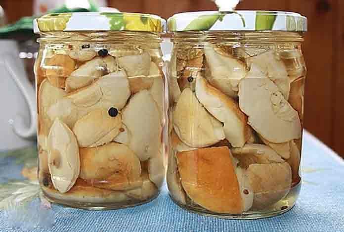 Маринованные белые грибы | Готовим рецепты