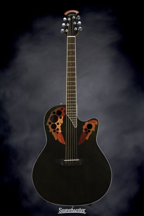 Super-shallow Ovation - my new stage guitar