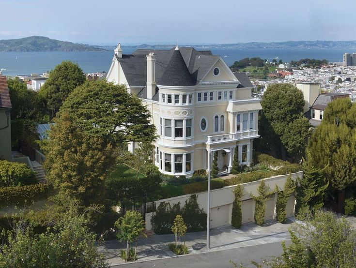 For a mere 30 million this mansion in San Francisco's Pacific Heights could be yours!