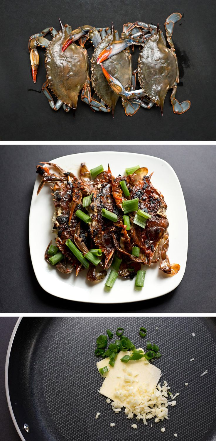 http://frances.menu/pan-fried-soft-shell-crab/ Learn how to prepare and cook Pan-Fried Soft Shell Crab. This perfect appetizer is crunchy on the outside with sweet juicy crab meat on the inside.
