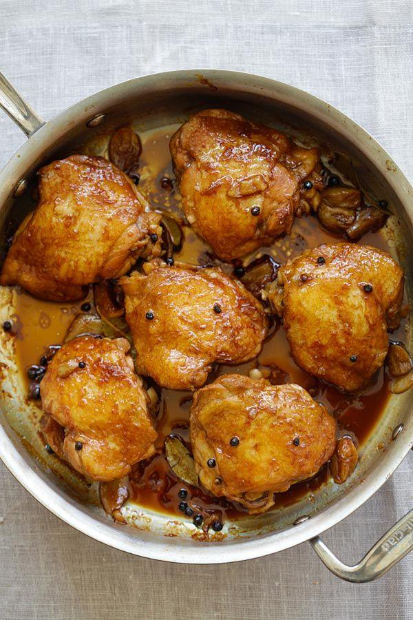 25+ best ideas about Chicken Adobo Filipino on Pinterest ...