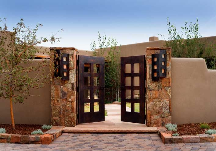 Top 25 best santa fe home ideas on pinterest southwest for Santa fe style homes