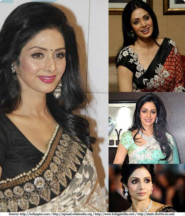 The alluring and charming Sridevi Kapoor | Biography, Movies, Photos