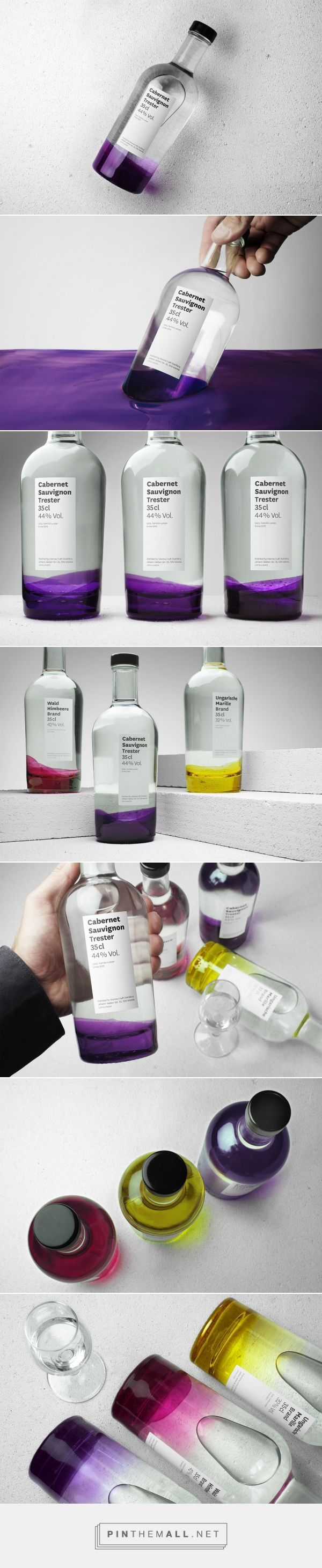 Edelbrand Series packaging design by Espacioblanco (Germany)