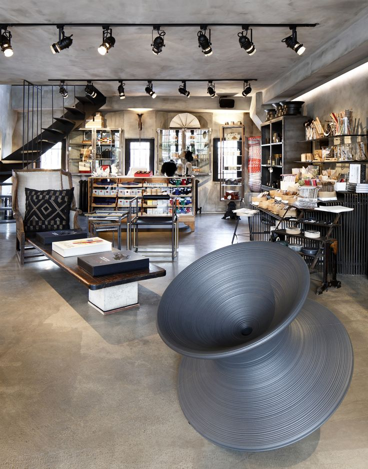 Industrial revolution: Istanbul's latest concept boutique sets up shop in a  converted garage. Car Repair ShopsShopping MallsRetail DesignIstanbul