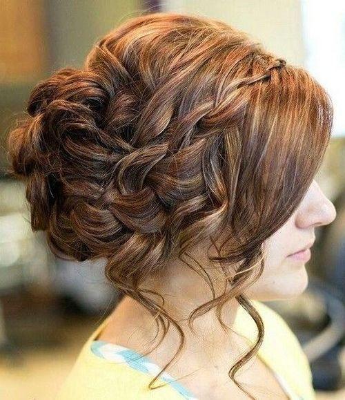 Complex Bun Hairstyle