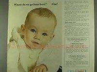 Gerber Baby Food Vintage Ads