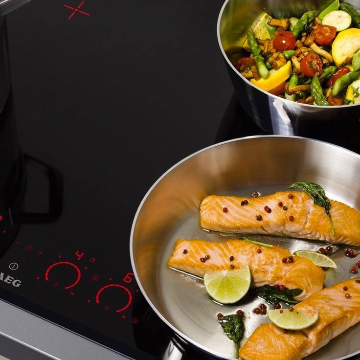 AEG's induction cooktops perform as good as they look!
