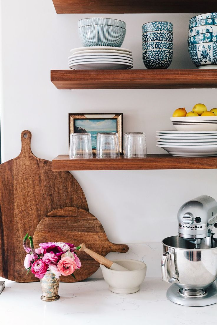 47 Best Open Shelving In Kitchens Images On Pinterest: Best 25+ Floating Shelves Kitchen Ideas On Pinterest
