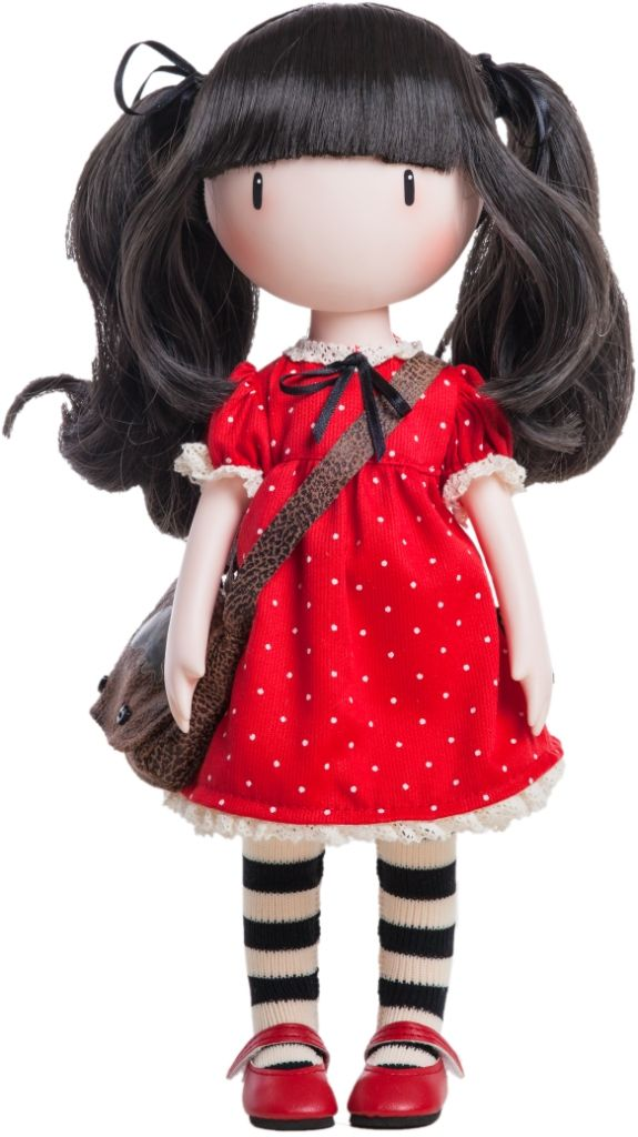 RUBY - Santoro Gorjuss Doll made of vinyl and 32cm tall with distinctive inwards turned toes and delicate hands just like the artwork - from www.mydollbestfriend.co.uk
