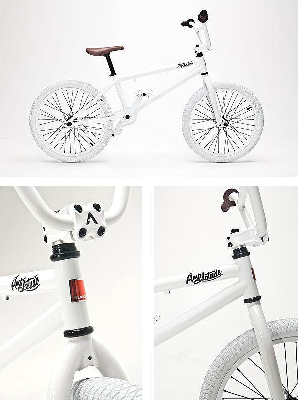 Amplotude Streetwear X Blank Special Edition BMX  My first ever bike Was a White BMX! I'm such a tom boy! ( wasnea quite like this mind!)