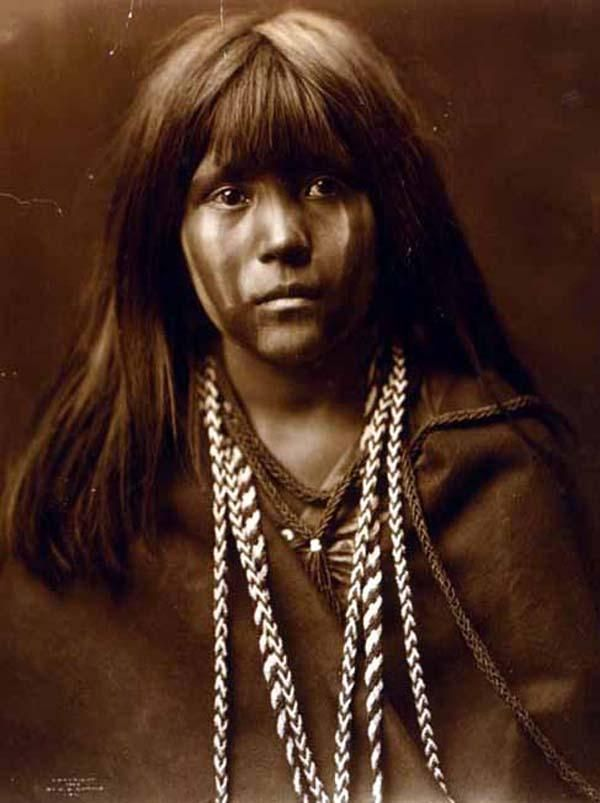 Here for your enjoyment is an absorbing photograph of Mosa. It was created in 1903 by Edward S. Curtis.    The photo illustrates Head-and-shoulders portrait of a Mohave woman, facing front.    We have compiled this collection of photographs mainly to serve as a valuable educational resource. Contact curator@old-picture.com.