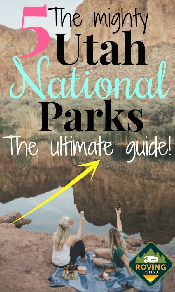 The Mighty 5 Utah National Parks!