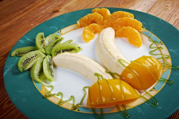 """Presentación irresistible para que los """"peques"""" coman su fruta."""