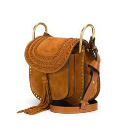 Chloe Small Suede 'Hudson' Bag