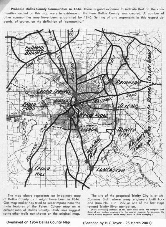 Dfw County Map on