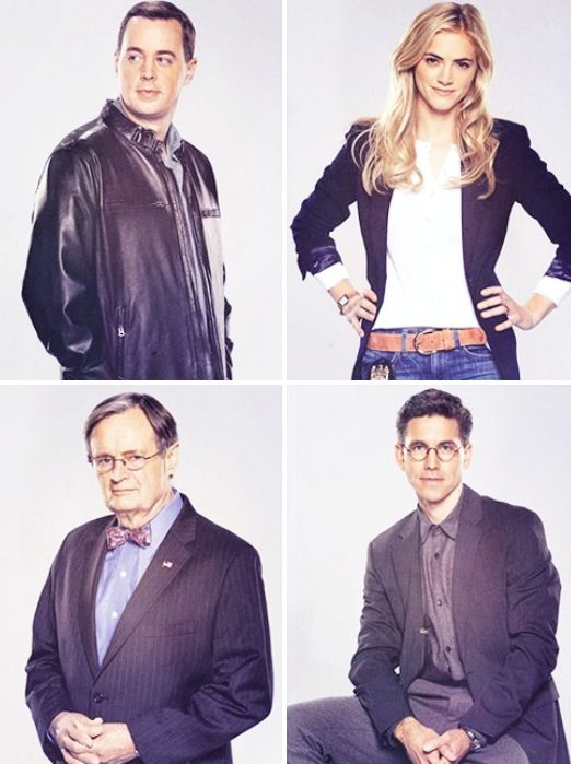 Sean Murray, Emily Wickersham, David McCallum, Brian Dietzen