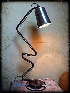 Lampe Zigzag