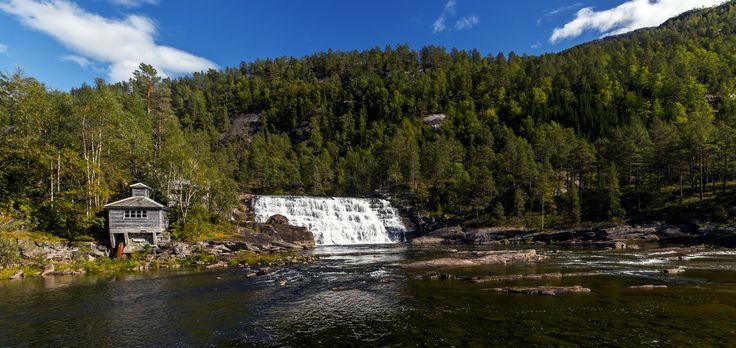 Waterfall by Eirik Sørstrømmen on 500px