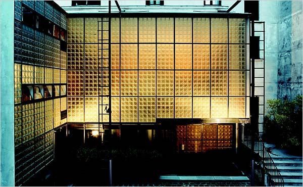 The Maison de Verre (House of Glass) - Untapped Paris... At the Maison de Verre, architectural historian Mary Vaughn Johnson gives a fascinating guided visit, bringing to life the original occupants of the home and their influence on the design.
