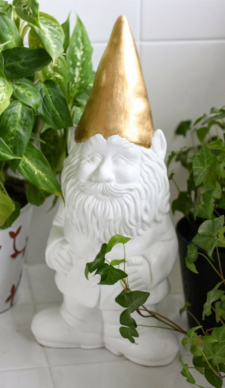 "The ""The Hipster"" Gnome at the BC Home + Garden Show"
