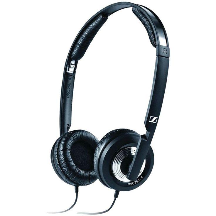 SENNHEISER 502818 Noise-Cancelling On-the-Ear Collapsible Headphones