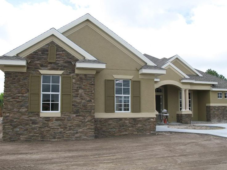 Exterior Paint Colors For Stucco Homes Exterior Paint: Best 25+ Stone Exterior Houses Ideas On Pinterest