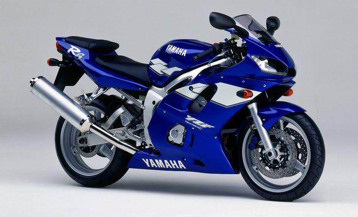 YAMAHA YZF-R6-1999 Blue
