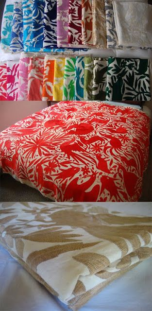 Mexican Otomi textiles