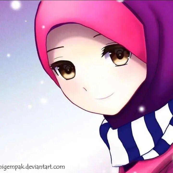 اجمل الصور الشخصية للفيس بوك للبنات المحجبات كرتون Cartoon Anime Photo