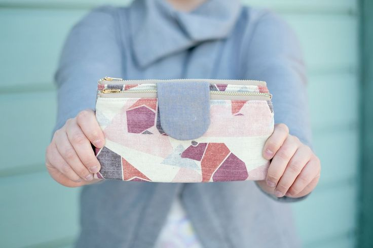 When you work at Fancy Tiger, one thing you learn is that crafting is totally infectious! If one person makes something, everybody else gets excited and wants to make one for themselves too. That was exactly the case with these adorable Double Zip Wallets that Caitlin, Kelly and I made from Handmade Style!   There are two things that I absolutely love about this pattern. The first thing is how versatile it is. We all used very different types of fabric and all of our wallets came out…