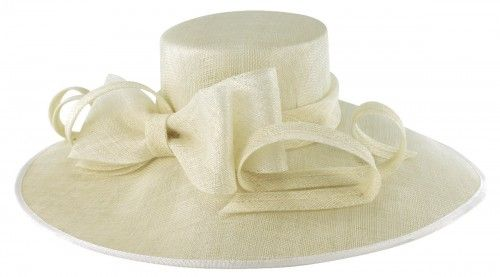 20% OFF - Elegance Collection Wide Brim Events Hat