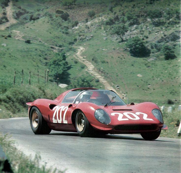 Targa Florio 1967, Ferrari Dino 206S