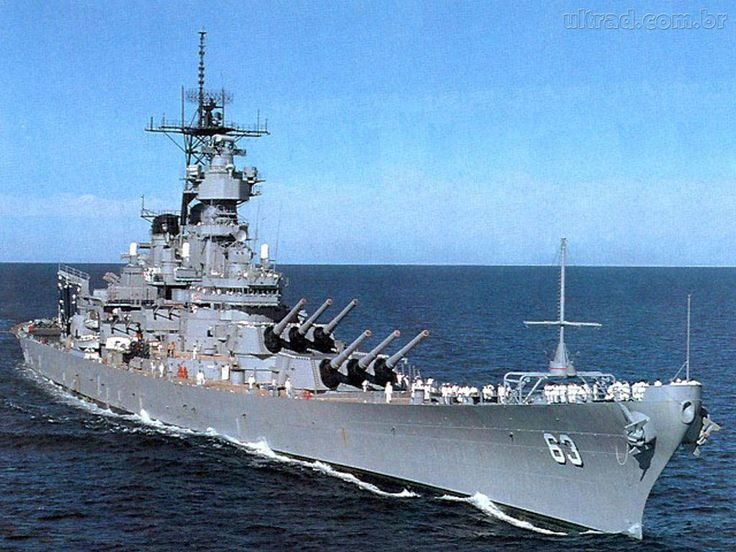 Maior navio de combate construido pelos EUA