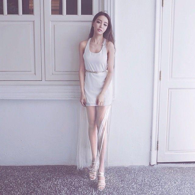 Dawn yang wedding dress