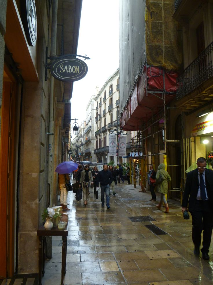 Shopping i Barcelona