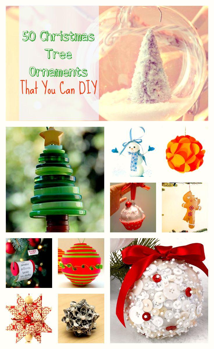 50+ Impressive and Super Simple Christmas Tree Ornaments