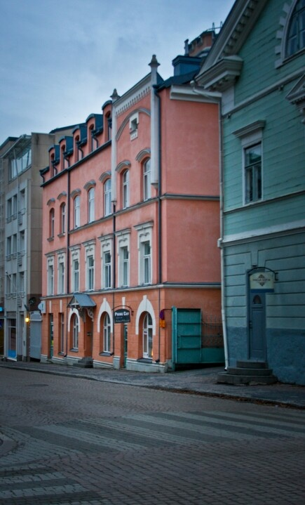 Oulu (Finland) in Colours... I remember these buildings!