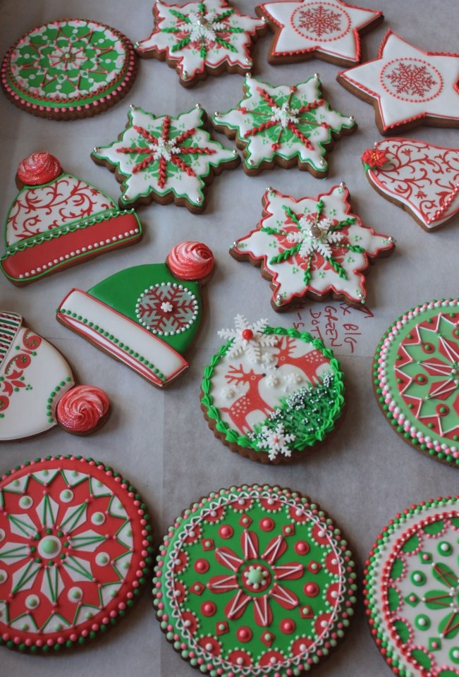 17 Best images about Christmas Cookie Decorating on ... - photo#35