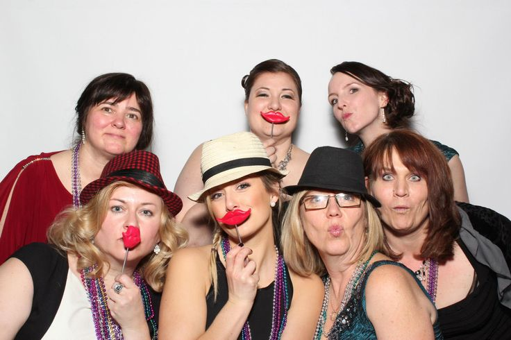 Some of the St. Albert & District Chamber of Commerce staff enjoying the annual Chamber Gala.