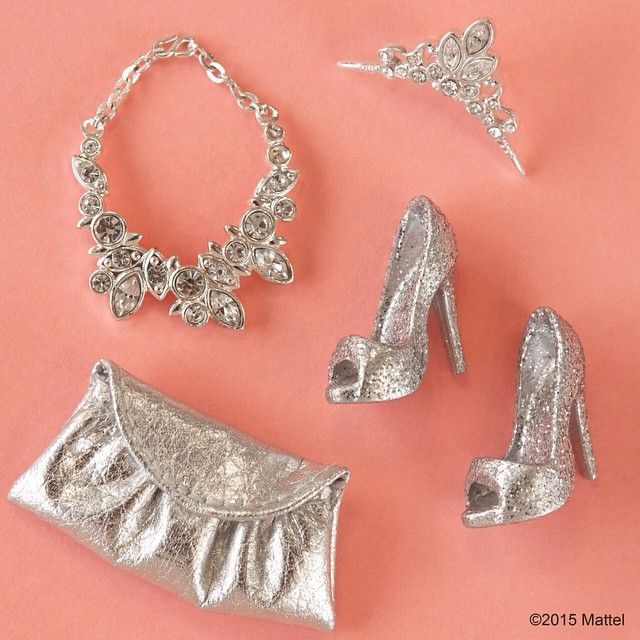 """Look at all this glittery goodness! #barbie #barbiestyle"""