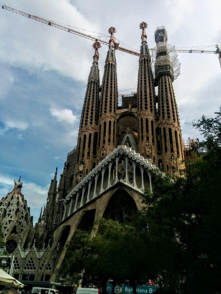 Sagrada familia , Barcelona,  Spain