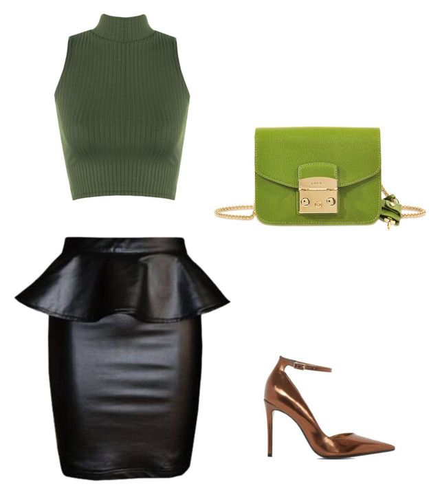 Antro by luziagalvang on Polyvore featuring moda, WearAll, Dune and Furla