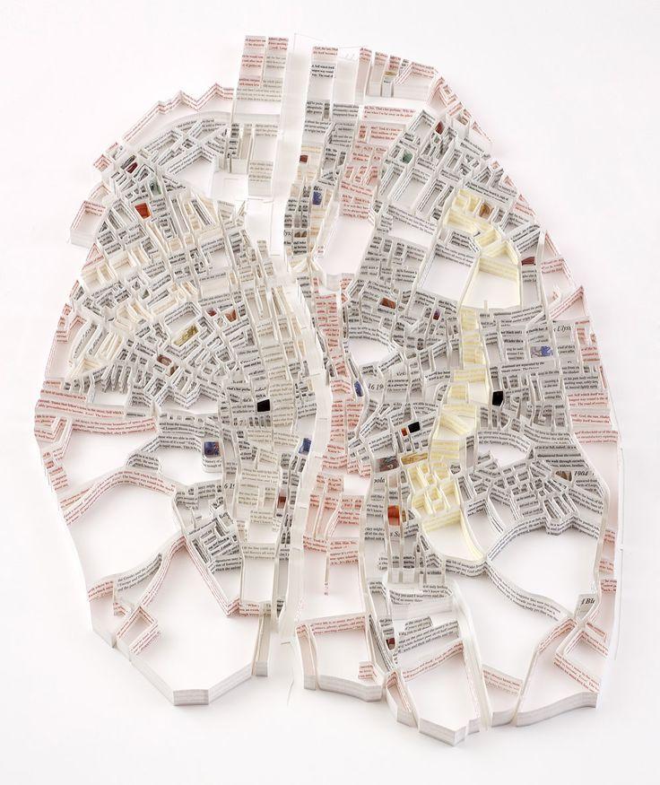 Paper Map by Matthew Picton