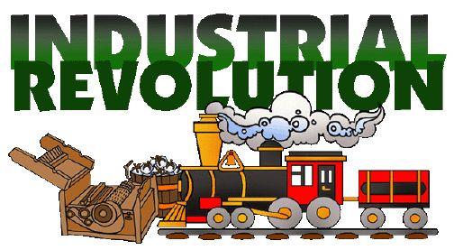 mrdonn.org - Industrial Revolution Begins in Europe Illustration