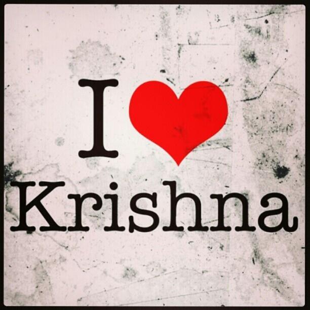 I love Krishna