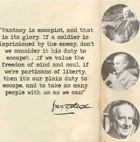 Tolkien's essay on fairy stories