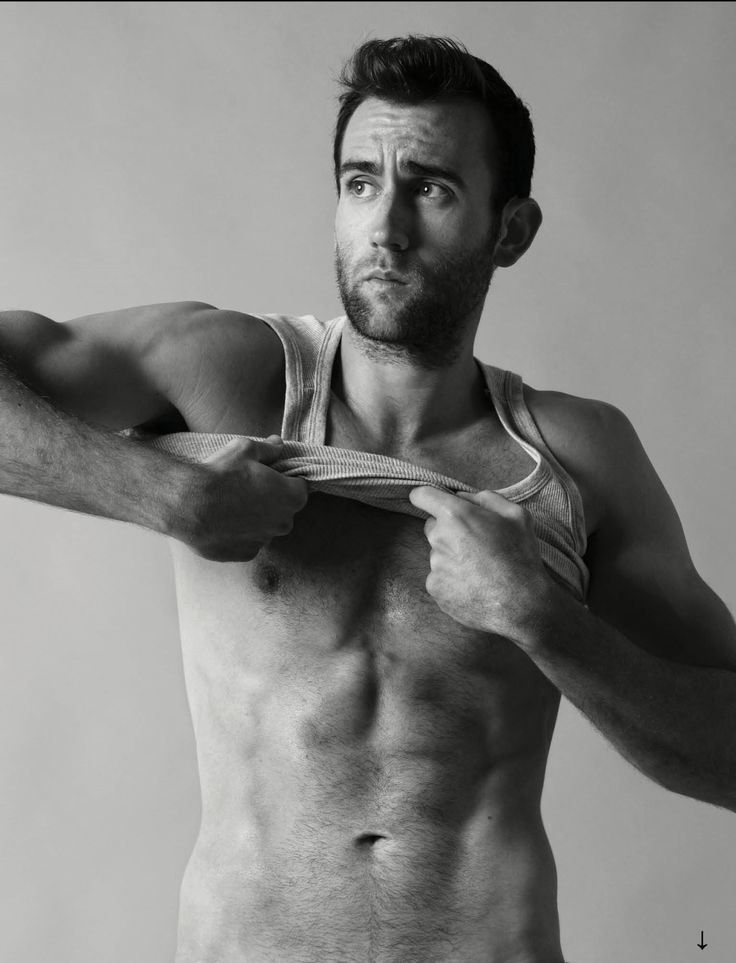 Holy.Crap.When did Neville Longbottom get so hot? Matthew Lewis for Attitude Magazine